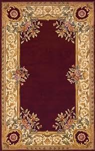 Momeni Rugs HARMOHA-07BLU2030 和谐系列,传统地毯,5.08 厘米 x 7.62 厘米,蓝色