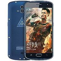 AGM X1移动联通电信4G全网通军工三防智能手机 双卡双待 超长待 顺丰包邮 (4G+64G, 蓝色)