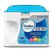 Similac 雅培 Advance Non-GMO 婴幼儿含铁奶粉 23.2 盎司(658g)(6罐装)