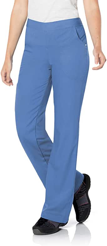 Urbane Women's Silky Soft Stretch & Comfortable 3-Pocket Cargo Scrub Pant