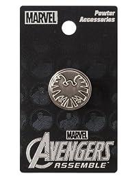 Marvel Avengers 盾形老鹰标志翻领别针
