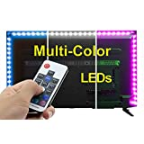 SPE USB LED Light Strip with RF Remote Control - All Sizes 158 Inches - 1000mA