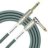 KIRLIN Cable Right Angle to Straight Instrument Cable OL 10 feet