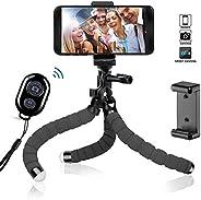 自拍杆带三脚架,NewRoad 手机三脚架自拍杆,带无线遥控器,适用于 Gopro、数码相机和手机(Andriod 和 iOS)(自拍杆)4326573182 tripod