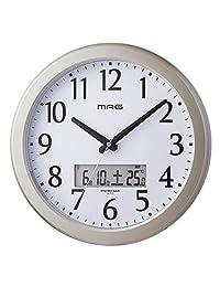 Mag ( 马克杯 ) 电波挂钟 ナイトグロー 香槟金710W CGM