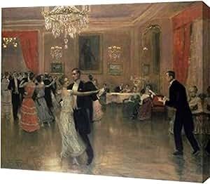 "PrintArt 的""At The Ball""由 Frederick Vezin 创作画廊装裱艺术微喷油画艺术印刷品,40.64 cm x 33.02 cm"