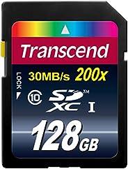 Transcend 8 GB Class 10 SDHC 閃存卡 藍色 128GB