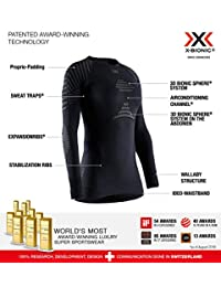 X-Bionic 女式 Invent 4.0 圆领长袖 T 恤