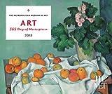ART: 365 Days of Masterpieces 2018 Desk Calendar