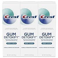 Crest 佳洁士 Gum Detoxify 深层清洁牙龈护理牙膏 4.1盎司/116克(3件)