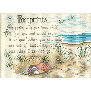 Dimensions Needlecrafts Counted Cross Stitch, He Spoke