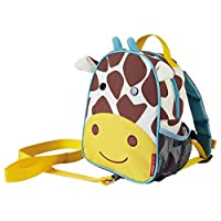 Skip Hop 蹦蹦跳跳动物园系列儿童和幼儿*包带背包 长颈鹿