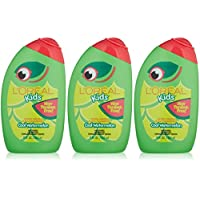 L'Oreal Kids Extra Gentle 2-in-1 Shampoo With a Burst of Watermelon, 9 Ounce (Pack of 3)