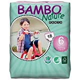 BAMBO 班博 自然系列 进口婴儿拉拉裤 尿不湿 学步裤 6号 XL码18片18kg+(丹麦进口)(进口)