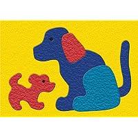 lauri 皱纹橡胶拼图–狗狗 & 小狗