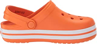 Crocs 卡骆驰儿童 Crocband 洞鞋|儿童涉水鞋,适合幼儿、男孩、女孩|一脚蹬凉鞋