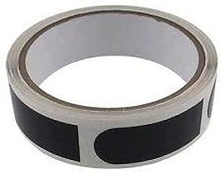 bowlingballfactory.com Ultra Tac保龄球拇指带 1.91 厘米黑色光滑(卷 100 件)
