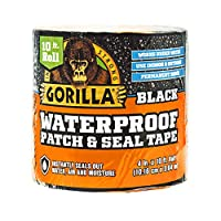 Gorilla 防水贴片&密封胶带 黑色 1 - 包 4612502