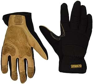 radians inc dpg212l Dewalt,大号,性能风格皮革驾驶手套