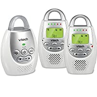 VTech Communications Safe and Sound 数字音频监视器 白色