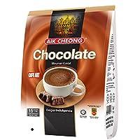 AIK CHEONG 益昌香滑巧克力粉(40g*15包) 600g(马来西亚进口) (新老包装随机发货)