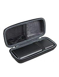 Anleo 硬质旅行箱适用于便携式充电器 Anker PowerCore 20100mAh - 超高容量移动电源