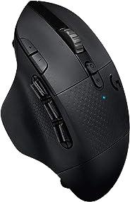 Logitech 羅技 LIGHTSPEED 無線游戲鼠標 帶15個可編程控制元件,電池續航時間長達240小時,兩種無線連接模式,黑色910-005649 Osteurop?ische Verpackung