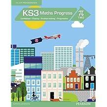 GSCE考试利器:KS3 Maths Progress Student Book Pi 2 初中数学进展学生书 - 9781447962335 [平装] Jack Barraclough [平装] Jack Barraclough