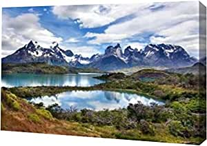 "PrintArt Cuernos del Paine Larry Malvin 16"" x 11"" GW-POD-11-PSMAL-131-16x11"