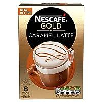 Nescafé Gold 焦糖拿铁咖啡, 8 包, (6件装, 共 48包)