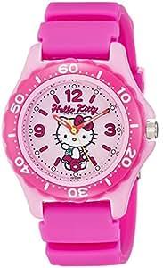 [西铁城 Q&Q]CITIZEN Q&Q 手表 Hello Kitty (凯蒂猫) 潜水员 模拟显示 10个大气压防水 粉色 VQ75-230 女士