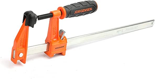 Jorgensen 3712-HD 12-Inch Heavy-Duty Steel Bar Clamp