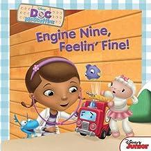 Doc McStuffins:  Engine Nine, Feelin' Fine! (Disney Storybook (eBook)) (English Edition)