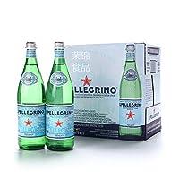 意大利S.Pellegrino圣培露含气矿泉水750ml*12瓶 ,保质期到2021年1月,保质期30个月