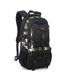 卡卡 男士双肩包旅行包大容量登山包户外电脑包