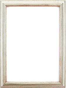 """优雅相框/相框/海报框架 - MDF 背板 - 可直接悬挂或立起 - 高清晰度苯乙烯防碎Perspex 床单- 7 种时尚颜色 银色 14"""" x 11"""" epf-slvr-14-11"""