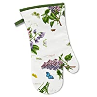 Botanic 花园手套,棉质,多色,36.5 x 19.5 x 2厘米