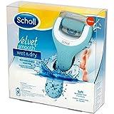 Scholl 天鹅绒柔滑干燥电动*锉,可充电
