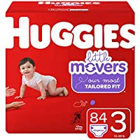 HUGGIES Little Movers 纸尿裤 NEW Giga Pack 3 84