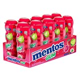 Mentos Sugar-Free Chewing Gum, Red Fruit Lime, 15 Piece Bottle (Pack of 10)
