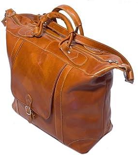 Floto Luggage Tack Duffle Bag 橄榄色/蜜棕色 均码