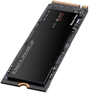 Western Digital 西部数据 WD_Black SN750 NVMe 内部游戏 SSD-Gen3 PCIe 固态硬盘,M.2 2280、3D NAND-WDS200T3X0C,2TB