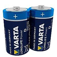 Varta 11500406 - 电池 Energy LR6 / AA Blau / Silber D Mono 2er Pack