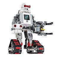能力风暴Abilix教育机器人积木系列氪7号 科普教学智能编程触屏超声测距摄像监控灰度检测拼插组装