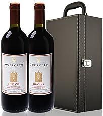 库尔切托酒庄 桑乔维塞干红葡萄酒750ml*2 双支装礼盒