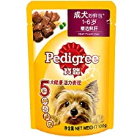 Pedigree宝路成犬妙鲜包肝100g*12