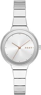 DKNY 女式模拟石英手表不锈钢表带 NY2694