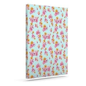 "Kess InHouse Laura Escalante""Paper Flower"" 户外帆布墙艺术 20"" x 24"" LE1002AAC04"