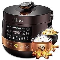 Midea 美的 电压力锅YL50Easy203球形内胆 可开盖煮家用双胆高压锅(供应商直送)