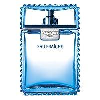 [Versace] Versace Man Eau Fraiche Gift Set - 50 ml EDT 喷雾 + 50 ml Shower Gel + 50 ml Shampoo (亚马逊海外卖家)